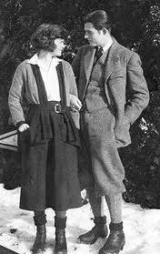 Hadley and Ernest Hemingway