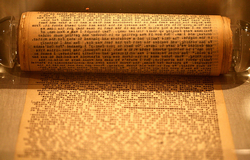 The original scroll of On The Road