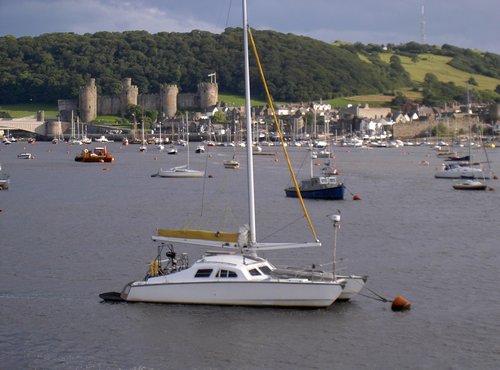 Conwy in Wales, looking a little like Llarreggub